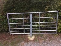 Steel Gate 8ft x 3.8 with posts