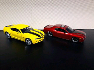 Diecast Cars. Camaro and Challenger