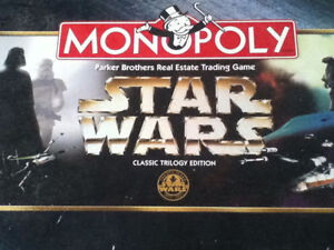 Star Wars Monopoly: Classic Trilogy Edition (1997)