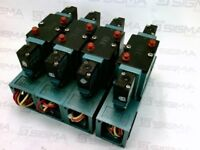 Mac 82A-BC-CKA-TM-DAAP-1DA Pneumatic 4-way Valve w/TM-DAAJ-1DA *Lot of 4*