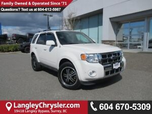 2012 Ford Escape Limited <B>*ACCIDENT FREE*LEATHER*NAVIGATION...