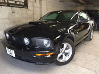 FORD MUSTANG GT COUPE 4.6 V8 MANUAL,JET BLACK,GREY LEATHER 55000 MILES