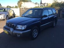 2001 Subaru Forester MY01 Limited Blue 5 Speed Manual Wagon Campbelltown Campbelltown Area Preview