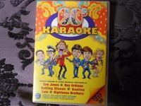 Karaoke DVD with tracks from the 60s