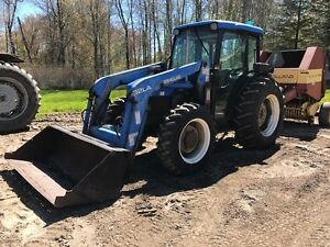 2001 New Holland TN75D Tractor