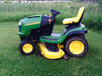 2005 John Deere L130 Lawn Tractor! We take broken trade ins!