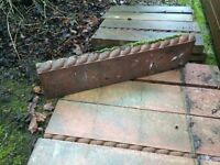Roped Topped Garden Edging tiles x 32 / Great Condition / 6 sold already