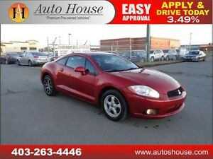 2009 Mitsubishi Eclipse GT-P MANUAL LEATHER 90 DAYS NO PAYMENT!