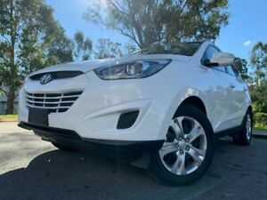 2015 Hyundai ix35 LM3 Active White 4 Speed Automatic Wagon Kingston Logan Area Preview