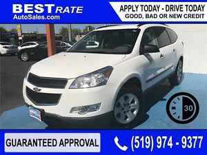 CHEVY TRAVERSE LS - APPROVED IN 30 MINUTES! - ANY CREDIT LOANS