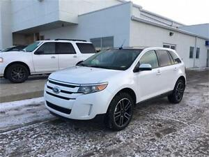 2014 Ford Edge SEL AWD ~ Sunroof ~ Leather ~ Voice Nav. $214 B/W
