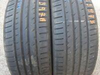 225 40 18 Continental 6mm(Plaistow E13 8HJ) Part Worn Tyres 175 205 235 245 195 45 50 55 65 17 16 14