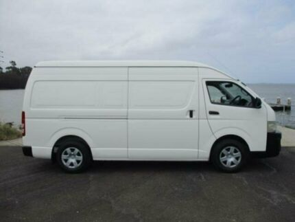 2007 Toyota Hiace TRH221R MY07 SLWB White 5 Speed Manual Van Dapto Wollongong Area Preview