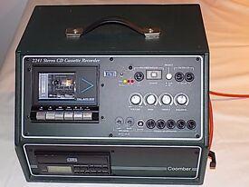 Coomber 2241 CD Cassette Amplifier