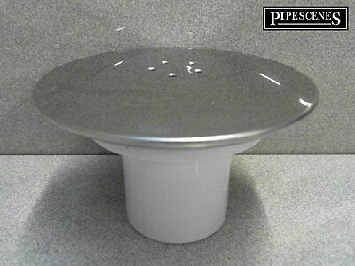 Replacement Shower Trap Cover FOR Waste Trap METAL top not Plastic ABS