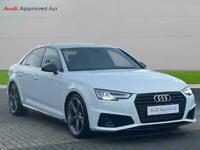 2019 Audi A4 35 Tfsi Black Edition 4Dr Saloon Petrol Manual
