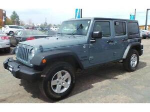 Low-mileage 2014 Jeep Wrangler Unlimited For Sale