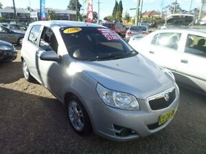 2010 Holden Barina TK MY10 Silver 4 Speed Automatic Hatchback Sylvania Sutherland Area Preview