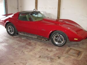 1976 CORVETTE STINGRAY-REBUILT