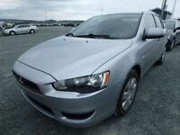 2008 Mitsubishi Lancer 4dr Sedan automatic with spoiler
