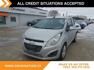 2015 Chevrolet Spark 1LT CVT FACTORY WARRANTY, BLUETOOTH, FWD...