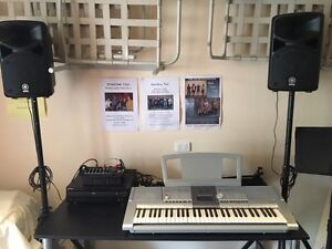 Complete Yamaha PA system with stands and mikes Brunswick East Moreland Area Preview
