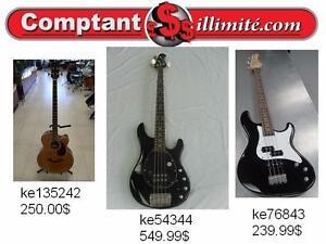Vaste choix de guitares basses chez Comptantillimite.com