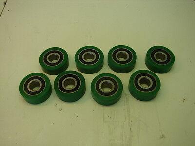 Luwa Bahnson W6203rs Conveyor Roller Ball Bearing Lot Of 8 Nnb