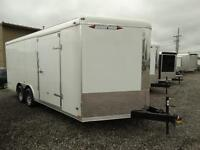 18' enclosed trailer with ramp