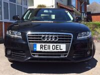 Audi A4 2.0 TDI Technik 4dr Special Edition (Rare Biscuit Leather Interior) 2011