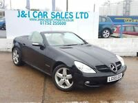MERCEDES-BENZ SLK 1.8 SLK200 KOMPRESSOR 2d 161 BHP A LOW PRICE CONVE (black) 2005