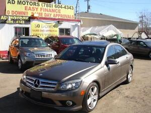 SPRING SALE!2010 MERCEDES-BENZ C300 4MATIC-100% APPROVED FINANCE