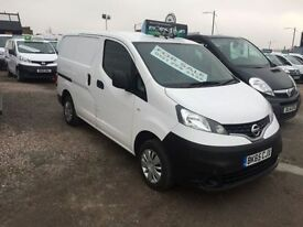 NISSAN NV200 1.5 DCI ACENTA 1d 90 BHP 1 of 50 NV200s all 1 owne (white) 2015