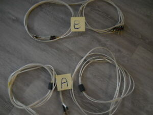 QED Silver  special 25th anniversary  edition speaker cable.