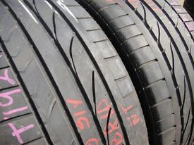 235/35/19 BridgestonePotenza RE050A x2 A Pair, 4.8mm (454 Barking Rd, Plaistow, E13 8HJ) Used Tyres