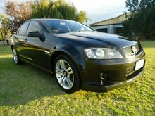 2008 Holden Commodore VE MY09 SV6 Black 6 Speed Manual Sedan Embleton Bayswater Area Preview