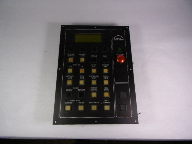 EAE/Man Roland FPR2-OP Assembly Pushbutton Operator Panel  USED