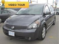 2007 Nissan Quest 3.5 SE | Leather | 5 Sunroofs | 2 DVDS | NAV