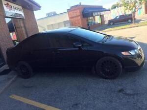 2008 Honda Civic LX SEDAN. LOW KMS! AUTO. CERTIFIED AND ETESTED. Kitchener / Waterloo Kitchener Area image 2