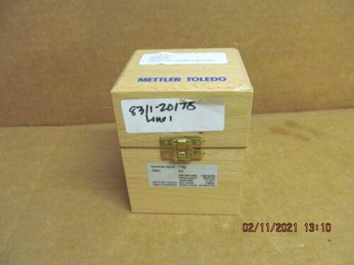 Mettler Toledo 1kg Precision Test Weight, Knob Style # 158481