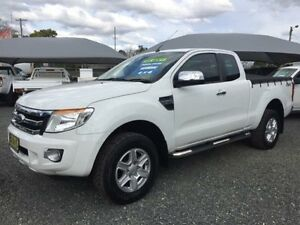 2012 Ford Ranger PX XLT 3.2 (4x4) White 6 Speed Automatic Super Cab Utility Gloucester Gloucester Area Preview