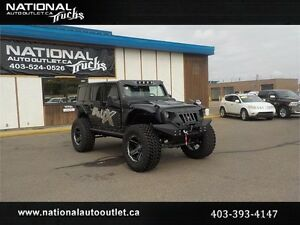 2017 Jeep Wrangler Unlimited Rubicon Lifted Custom One Of A Kind