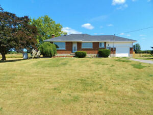 All Brick Bungalow Situated Near Napanee!