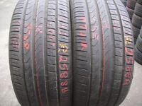 245 40 18 Pirelli,CinturatoP7,ExtraLoad,Audi,97Y APair,6.7mm(450-458 Barking Road,E13 8HJ) Part Worn