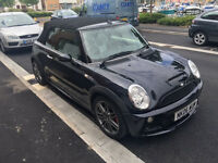 Superb Mini Cooper S Convertible - John Cooper Works. Leather, cruise control & recently serviced