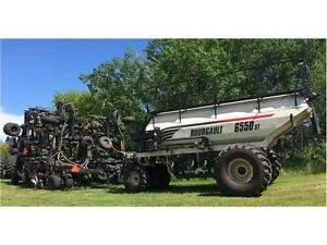 2014 SEED MASTER 6012 DRILL & BOURGAULT 6550ST TANK