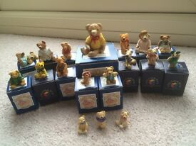 18 of Peter Fagan's original 'Colourbox' bears collection for sale