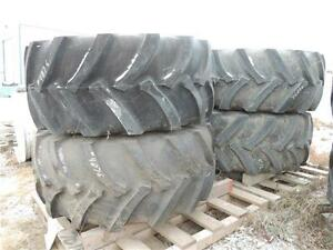 NEW(4) 800/65R32 Titan floater tires & rims New Holland BLOW OUT