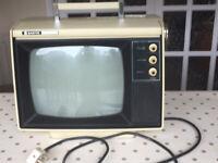 Vintage Sanyo black and whiteTV
