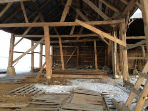 dismantling barn for free